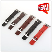 100% Handmade Genuine Leather Watch Band for Iwatch