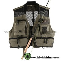 Top quality breathable classic V-Lite fly fishing vest