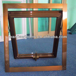 Foshan factory wholesale single hung sash window
