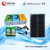 CE certification led solar kit, home solar panel kit, led mini solar lighting kit
