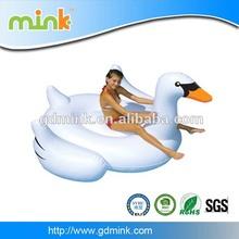 Factory direct selling swim pool inflatable swan float pvc inflatabel swan