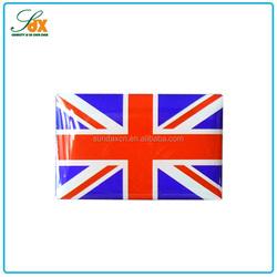 China Manufacturer Custom Expoxy Metal UK Nation Flag Lapel Pin