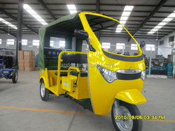 battery passenger three wheeler tricycle