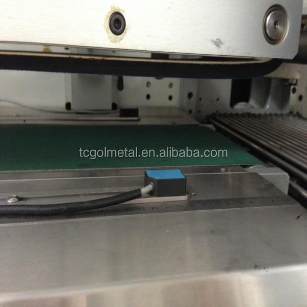 ce belgelendirme yeni tip plc parça yatay yastık ambalaj makinesi shrink siperliği