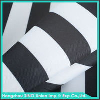 Polyester fabric printing textile waterproof uv protect luggage making materials fabric
