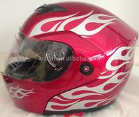 cascos shoei helmet for motorcicles FLIP UP full face helmet with double visor motorcycle helmet TN8615 GLOSS COLOR