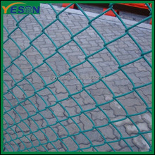 chain link fence for baseball fields/pvc coating chain link fence