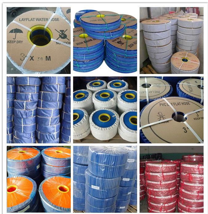layflat hose packaging