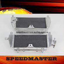 aluminium motorcycle radiator factory for Kawasaki KX125 KX250 94-02