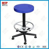 Comfortable swivel lab stool