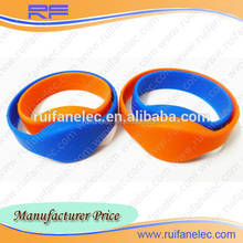 Factory price most popular rfid transponders wristband 24H service