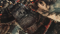 black petrified wood black agate semi Precious Stone Wall agate slices wholesale island flooring countertop agate stone