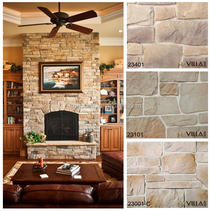 piedras pared interior affordable with piedras pared