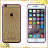 Thin fashion electroplate TPU mobile phone case for iPhone 6s/6 plus