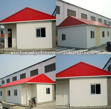 steel structure modular house and prefab labor house and prefab office and prefab villa