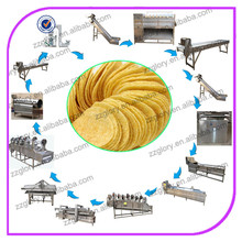 Automatic Industrial Potato Chips Machine