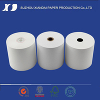 thermal cash register low prices paper roll used in thermal printer/thermal receipt printers