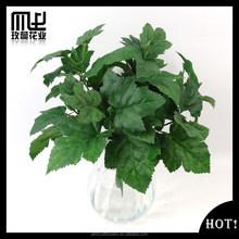 Home decorative artificial fabric grape Leaf