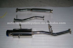 exhaust header and catback for SUBARU