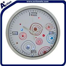 12 Inch Aluminium Wall Clock with LED Backlight