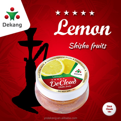 2015 High Quality of Dekang DeCloud Lemon Flavor Shisha fruits