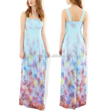 2015bohemian chiffon ruched bodice party dress holiday occasion wear strappy chiffon evening prom party dress new