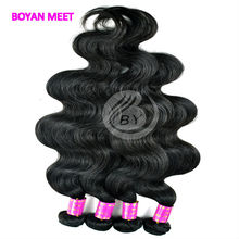 Factory Price 3A Indian Wet And Wavy Virgin Indian Remy Hair Extension
