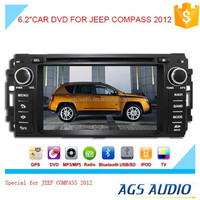 touch screen car dvd gps navigation system with radio/mp3/gps for JEEP COMPASS