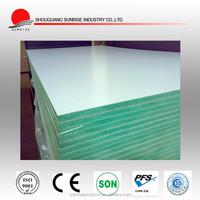 Green core waterproof paint MDF in fiberboards