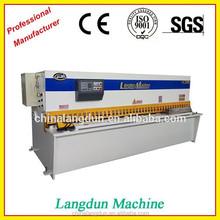 Good hydraulic shear machine, cutting machine 4*5000