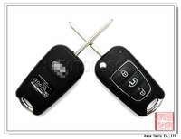 For Hyundai 3 Buttons Flip Smart Key Cover AS020018