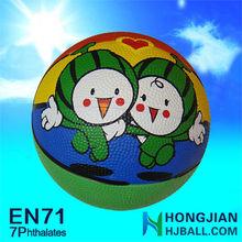 promotional NO.7 custom basketball in jiangsu