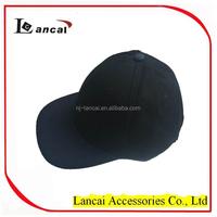 wholesale 6 panel plain black snap back baseball caps