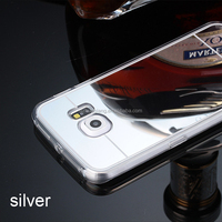 Online Shopping India tpu mobile phone case electroplate mirror TPU case for samsung s6/s6 edge