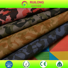 camouflage leather material