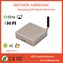 Wifi Audio Music Streaming Receiver Supports Ios/Android Devices Sharing Music To Soundmate Via Wifi For Speaker From ROOFULL