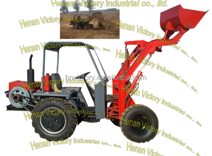 Tractor Front Track : Mini dumper loader tractor with front end buy