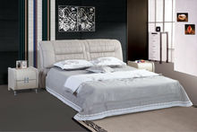 High quality PU Leather Bed