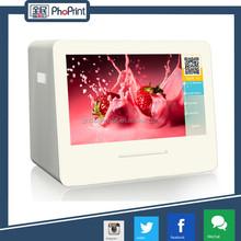 High grade instant photo printer device/sale printing photo machine/logo printing machine