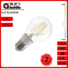 ALD LED filament bulb A60 4w,5w,6w, Cost-effective