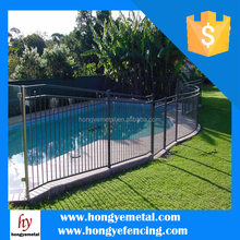 High Quality Swimming Spear Top Used Pool Fence Manufacturer Direct Supply