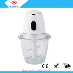 2015 home meat blender & vegetable chopper 1.5L/ 0.6L plastic and 1.5L /1.2L /0.6L glass bowl for choice China Supplier
