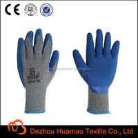 10g cotton lined rubber gloves, latex gloves heat resistant, gloves factory