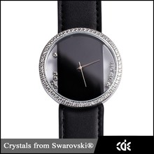 CDE Branded Fashion Crystal Lady Watch, OEM Factory China Gold Luxury Wrist Watch for Women