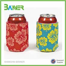 Cheapest logo printed Promotional neoprene beer bottle stubby holder