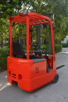 new dynamic load 1ton 1.5ton mini forklift, forklift truck, 3wheels electric forklift truck