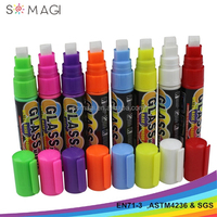 8 mm nib alcohol based water soluble liquid chalk sharpie marker