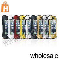 LOVE MEI Metal Case for iPhone 5 5S 5C,Waterproof Shockproof Case for iPhone 5 5S, Aluminum Case for iPhone 5S
