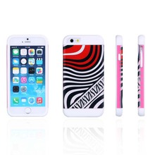 Water transfer 3D printing wholesale factory price shock proof and water proof soft silicone mobile phone cover