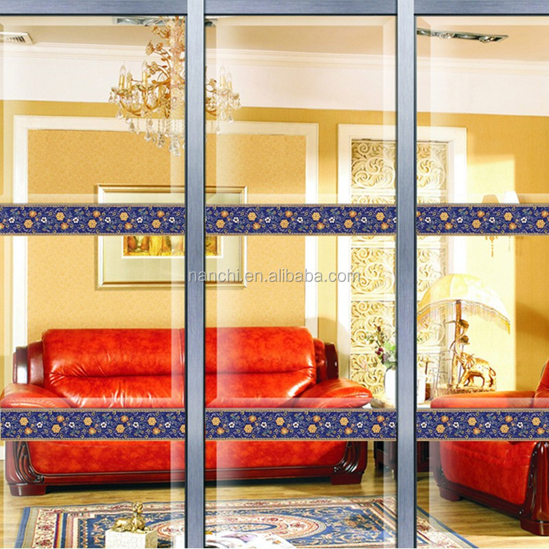 la maison porte en verre décoration sticker mural salle de bains ... - Decoration Stickers Muraux Adhesif